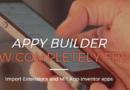 Appy Builder tamamen ücretsiz ve açık kaynaklı oldu